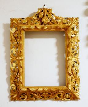 Picture Frame - solid wood - 1880